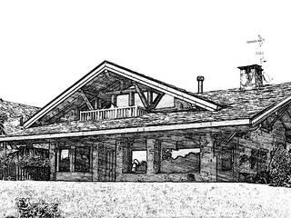 Manuel Monroy Pagnon, arquitecto Rustic style houses