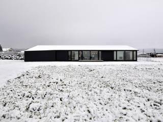 Moderne huizen van TAC一級建築士事務所 Modern