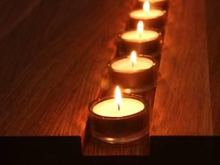 Couchtisch Kerzenschimmer geölt:   von RTB`s Holzdekoladen