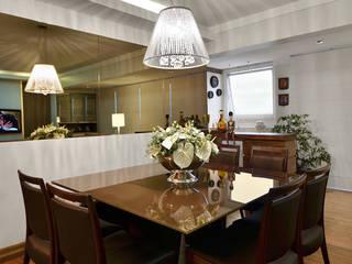 LIVING : Salas de jantar  por LizRibeiro Arquitetura,