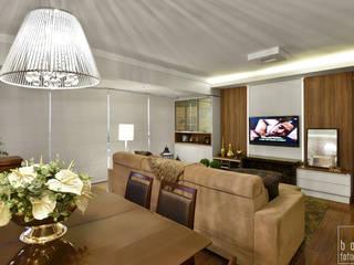 LIVING : Salas de estar  por LizRibeiro Arquitetura,