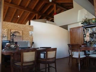 Interiores Manuel Monroy Pagnon, arquitecto Estudios y despachos de estilo moderno