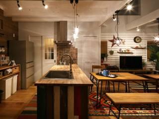 H's HOUSE: dwarfが手掛けたキッチンです。,