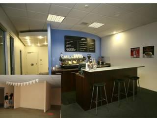 Bozantı Mimarlık – Cafe Nero Ofisi:  tarz Mutfak,