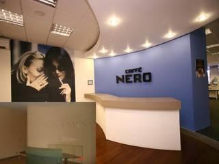 Bozantı Mimarlık – Cafe Nero Ofisi:  tarz Çalışma Odası,
