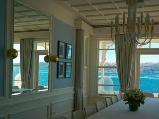 Bozantı Mimarlık – Gazebo Restaurant Yeniköy:  tarz Oturma Odası,
