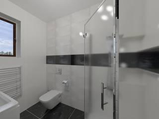 Katarzyna Wnęk 現代浴室設計點子、靈感&圖片 White