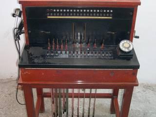Centralita telefónica antigua de Restauracions Jordi Nóbrega
