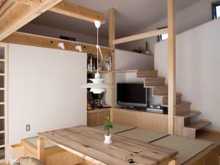 尾日向辰文建築設計事務所 Living room
