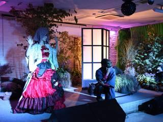世界初 歌庭ユニット (田畑冬樹&岡本麻里菜): 株式会社冬樹庭園が手掛けた庭です。