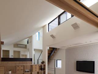 リビング|桜坂の家: U建築設計室が手掛けたリビングです。,