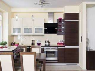 Cocinas modernas de ARTEMA PRACOWANIA ARCHITEKTURY WNĘTRZ Moderno