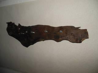 Holz/Wurzel-Garderobe! von Holzsteinkunstobjekte Rustikal
