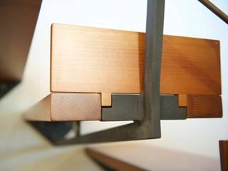 LDA_AB1 : Un camino da scalare Ingresso, Corridoio & Scale in stile rustico di Laboratorio di Architettura di Lamon Arch. Luciano Rustico