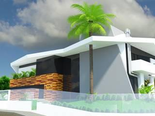 Residência Aventador: Casas  por ANNA MAYA ARQUITETURA E ARTE