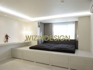 Modern style bedroom by wizingallery Modern