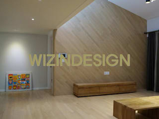 wizingallery Living room MDF Amber/Gold