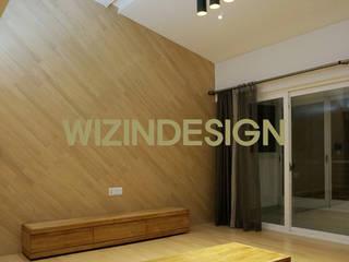 wizingallery Living room MDF Grey