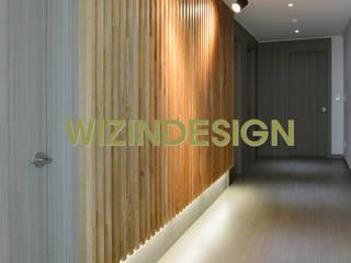 wizingallery Modern Corridor, Hallway and Staircase