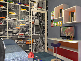 Boy's room Planet G Modern style bedroom