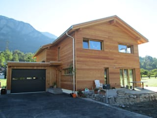 Neubau EFH Fam. Marugg-Margreth, 7414 Fürstenau:  Häuser von marabau - Baukoordinationen GmbH