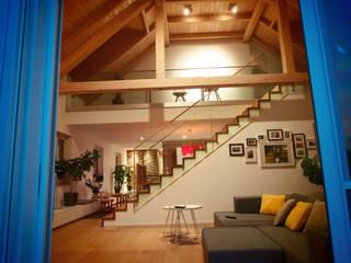 WOHNRAUM 02 Moderne Wohnzimmer von IRD GmbH Modern