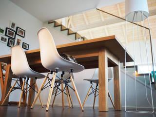 WOHNRAUM 02 Moderne Esszimmer von IRD GmbH Modern