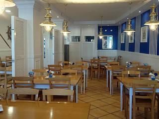 Bar Asador El Puerto Comedores de estilo ecléctico de temas rojo Ecléctico