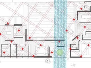 Geobiologia vivienda unifamiliar 3: Dormitorios de estilo  de Glaria Estudio Arquitectura SL