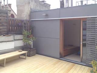 Private Spa:  Terrasse von dietrich + lang architekten