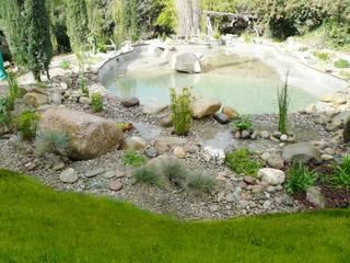 Jardins modernos por abpaisajismo Moderno