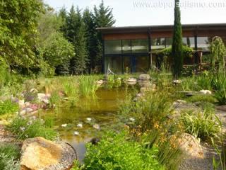 Jardines de estilo  por abpaisajismo, Moderno