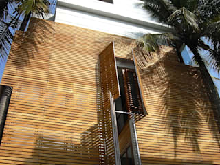 B HOUSE Asian style houses by KIRON CHEERLA ARCHITECTURE Asian
