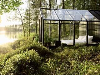 Casas rurales de Paul Marie Creation Garden Design & Swimmingpools Rural