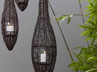 Verlängerung nach Aussen des Badezimmer für tropisches Flair. Asiatischer Balkon, Veranda & Terrasse von Ecologic City Garden - Paul Marie Creation Asiatisch