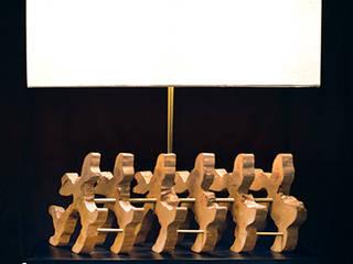 Table lamps:   por Woodpieces