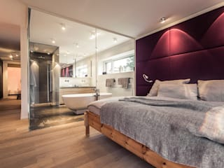 Cuartos de estilo  por Meissl Architects ZT GmbH
