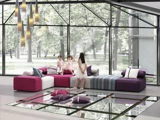 Ambientes: Salones de estilo  de MUEBLES COVES