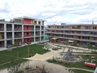 Holzbausiedlung Oberfeld Minimalistische Häuser von Planwerkstatt Architekten Minimalistisch