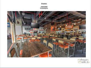 Proyectos comerciales Bares y clubs de estilo moderno de Etnica Urbana Moderno