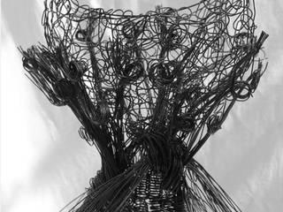 Sculptures: Salon de style  par Fer en fil