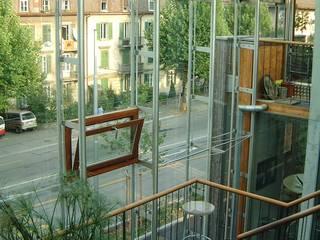 Wohn- und Geschäftshaus Dammweg 43 Bern Klassischer Flur, Diele & Treppenhaus von Planwerkstatt Architekten Klassisch