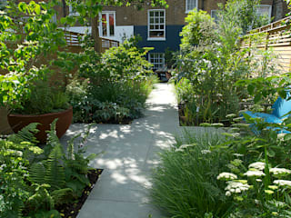 Contemporary Garden Design by London Based Garden Designer Josh Ward 根據 Josh Ward Garden Design 現代風