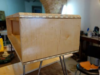"""Sound box:  {:asian=>""""asiático"""", :classic=>""""clássico"""", :colonial=>""""colonial"""", :country=>""""campestre"""", :eclectic=>""""eclético"""", :industrial=>""""industrial"""", :mediterranean=>""""Mediterrâneo"""", :minimalist=>""""minimalista"""", :modern=>""""moderno"""", :rustic=>""""rústico"""", :scandinavian=>""""escandinavo"""", :tropical=>""""tropical""""} por Atelier São Vicente,"""