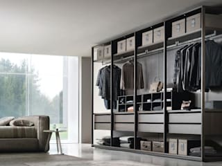 homify Modern dressing room