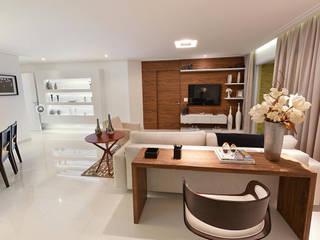 Moderne woonkamers van Aline Dinis Arquitetura de Interiores Modern