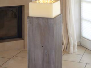 Mehrdochtkerze, Kerze, 13 Dochte: modern  von Polarlichter-Kerzen,Modern