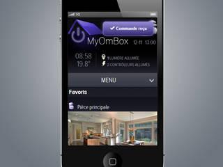 Maison en Myhome BUS & MyHome Play par MyOmBox Rustique