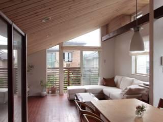 Scandinavian style living room by アトリエグローカル一級建築士事務所 Scandinavian
