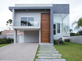 Fachada: Casas  por Pau Brasil
